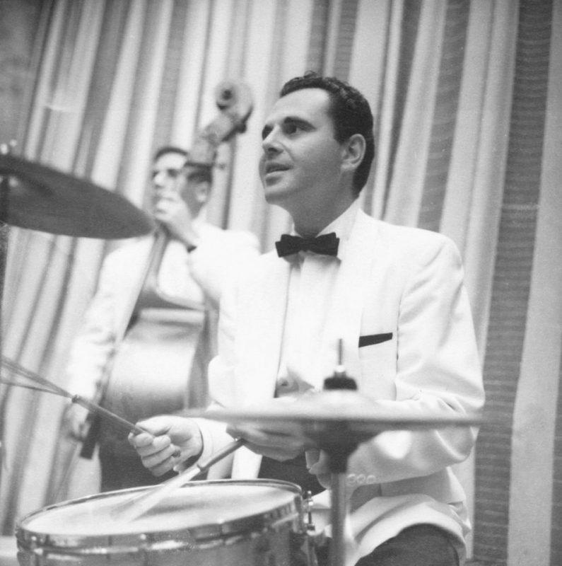 Ira Sabin playing drums
